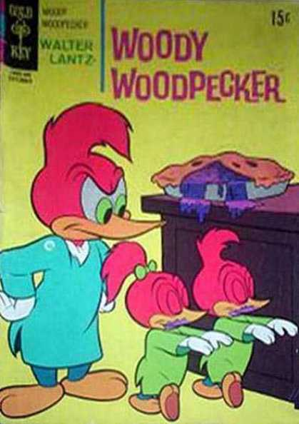 Woody Woodpecker 113 - Woody Woodpecker - Gold Key Comics - Walter Lantz - Sleepwaking - Pie-eating