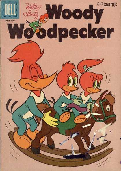 Woody Woodpecker 60 - Woody Woodpecket - Horse - Shoes - Hair - Threads