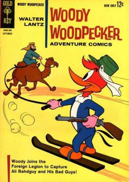 Woody Woodpecker 77 - Gold Key - Walter Lantz - Camel - Hat - Adventure Comics