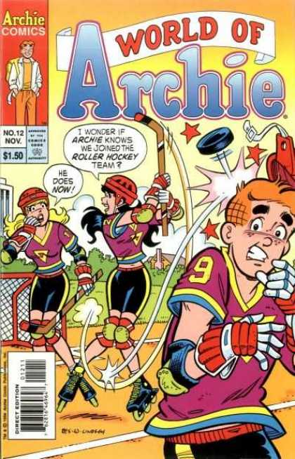 World of Archie 12 - Outdoor Hockey - Female Athletes - Head Injury - Protective Gear - Roller Blading