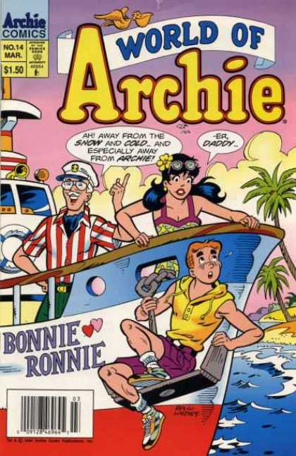 World of Archie 14 - Bonnie Ronnie - Boat - Palm Tree - Veronica - Captain