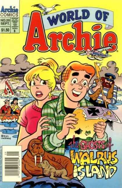 World of Archie 20 - Pirates - Map - Sinking Ship - Walrus - Sea