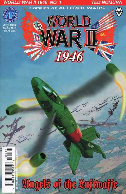 World War II 1946 1 - Ted Nomura - July 1999 - Altered Wars - Bombs - Airplanes