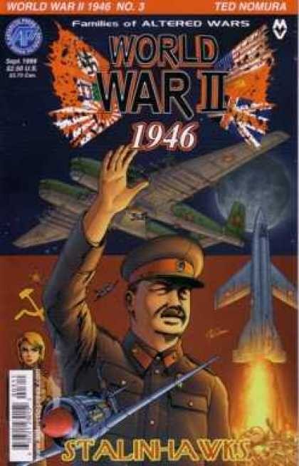 World War II 1946 3 - Stalin Hawks - 1946 - Fighter Planes - Brown Uniform - Families Of Altered Wars