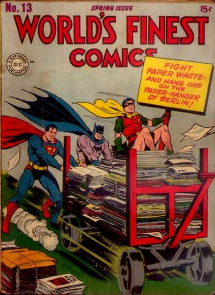 World's Finest 13 - No13 - Spring Issue - Comics - Papers - Superman