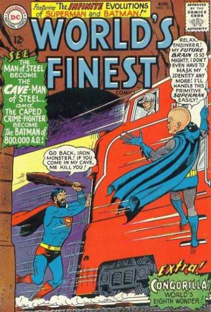 World's Finest 151 - Infinite - Cave-man - Steel - Batman - Cape