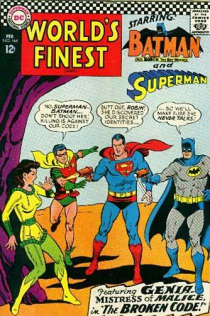 World's Finest 164 - Dc - Batman - Superman - February - Speech Bubbles