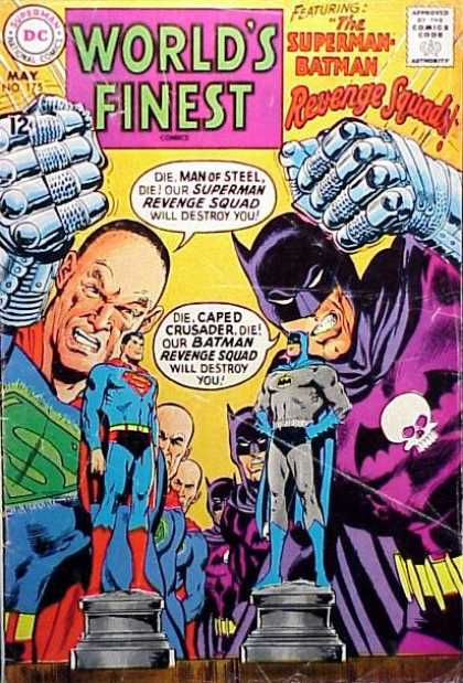 World's Finest 175 - Superman - Dc - National Comics - Approved By The Comics Code Authority