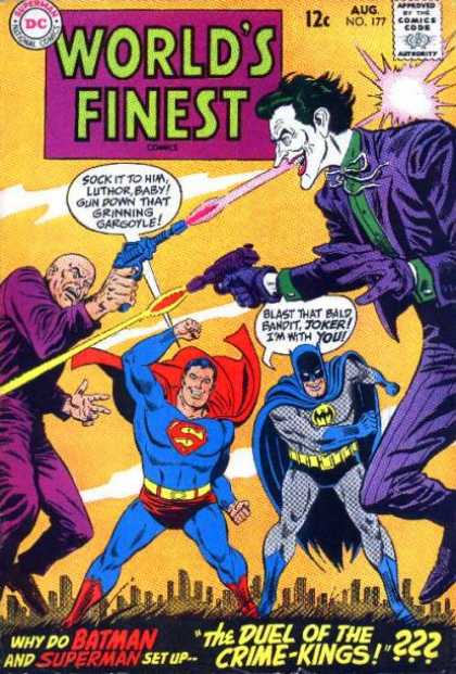 World's Finest 177 - Lex Luthor - Joker - Crime-kings - Duel - Battle