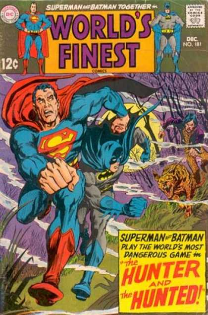 World's Finest 181 - Superman - Batman - Heroes - Dc - Cartoon