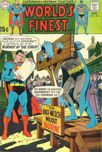 World's Finest 186 - Dc - Batman - Superman - People - Bat Witch