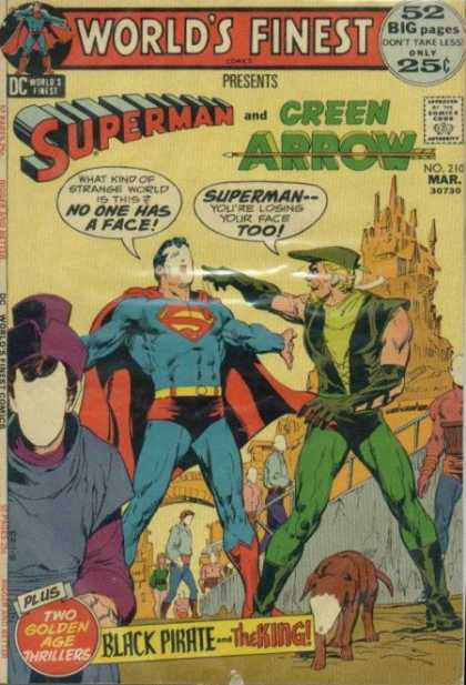 World's Finest 210 - Superman - Green Arrow - No 210 - March - Black Pirate