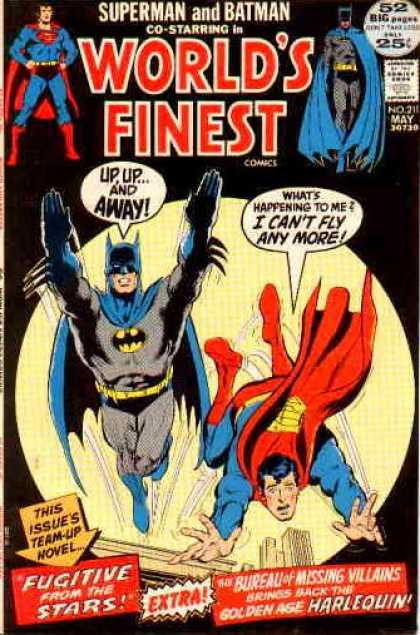 World's Finest 211 - Superman - Batman - Losing Powers - Gaining Powers - Reversing Abilities
