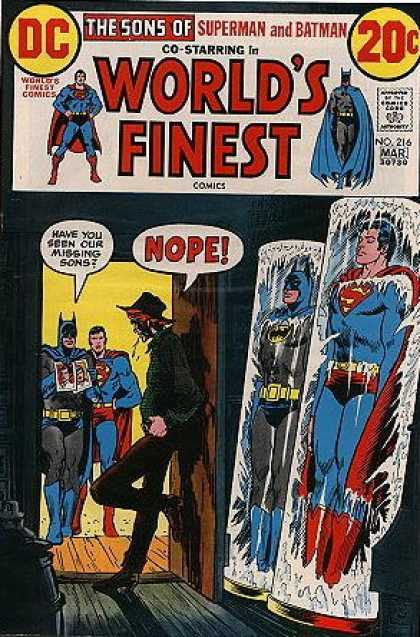 World's Finest 216 - Hero - Hat - Built - Clothe - Custom
