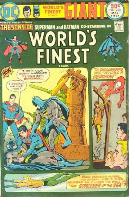 World's Finest 230 - Superman - Batman - Aquaman - The Sorcerer Of The Sea - Gallows