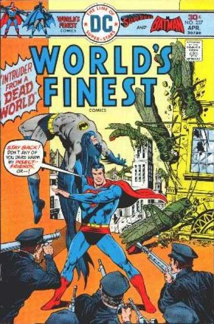 World's Finest 237 - Dc - 30 Cents - No 237 - Apr - Intruder From The Dead World