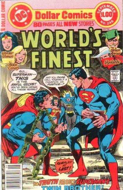 World's Finest 246 - Dc Comics - Wonder Woman - Black Canary - Green Arrow - Vigilante