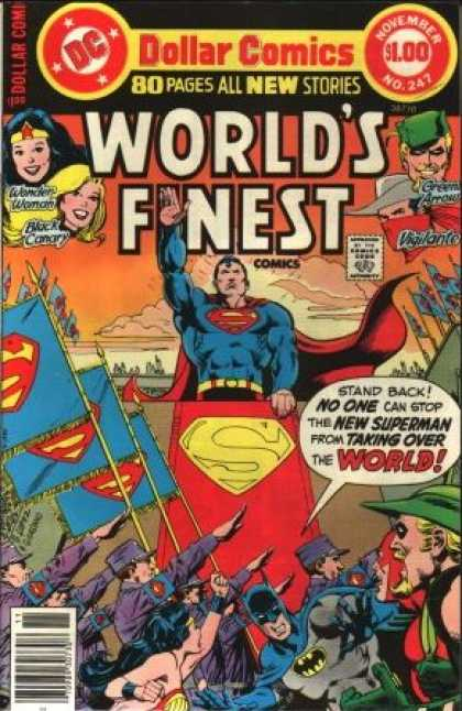 World's Finest 247 - Dollar Comics - 80 Pages All New Stories - November - New Surerman - World