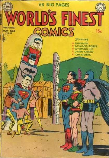 World's Finest 58 - Dc Comics - Batman - Superman - Totoms