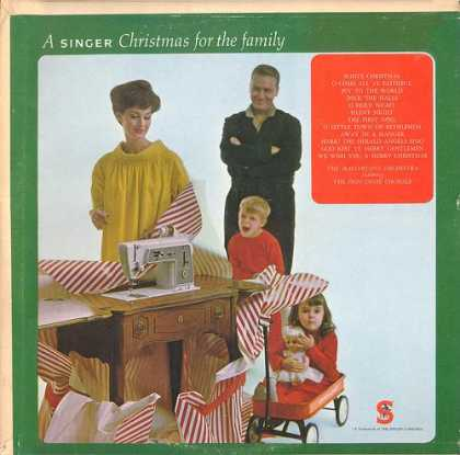 Worst Xmas Album Covers - A singer Christmas for the family