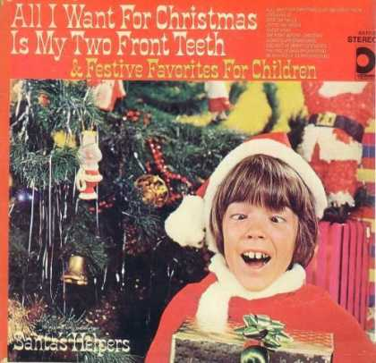 Worst Xmas Album Covers - All I Want For Christmas Is My Two Front Teeth