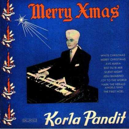 Worst Xmas Album Covers - Merry Xmas, Korla Pandit