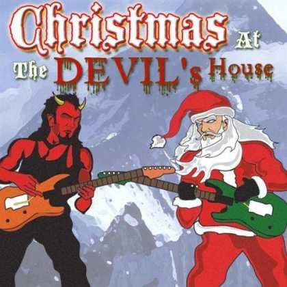 Worst Xmas Album Covers - Christmas ... at the devil's house?
