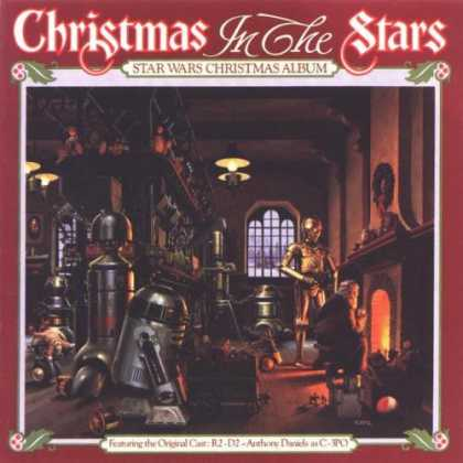 Worst Xmas Album Covers - Xmas with R2D2