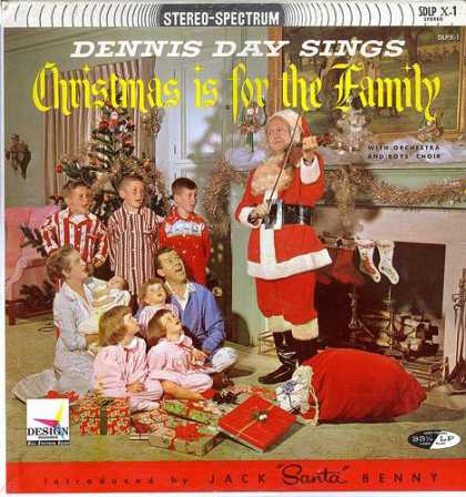 Worst Xmas Album Covers - Daddy, Santa scares me!