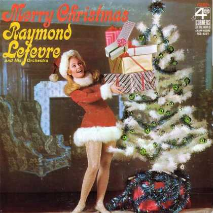 Worst Xmas Album Covers - Merry Christmas with Raymond Lefevre