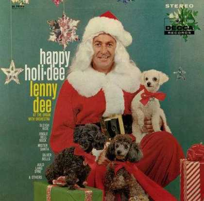 Worst Xmas Album Covers - Happy Holidee, Lenny Dee!
