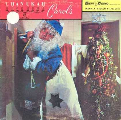 Worst Xmas Album Covers - A blue Santa