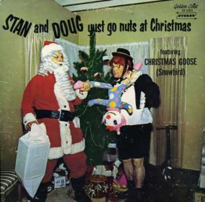 Worst Xmas Album Covers - Stand and Doug rip apart a doll for christmas
