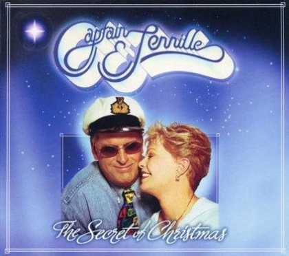 Worst Xmas Album Covers - Captain & Jenille rock the boat