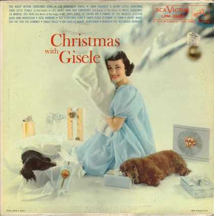 Worst Xmas Album Covers - Gisele