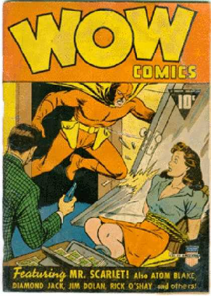 Wow Comics 1 - Clarence Beck