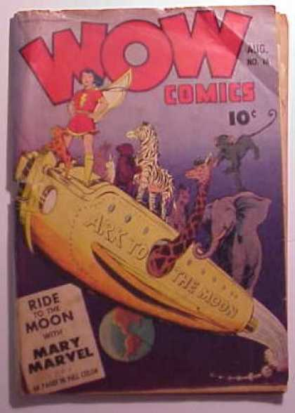 Wow Comics 16 - Ark - Moon - Zebra - Monkey - Elephant