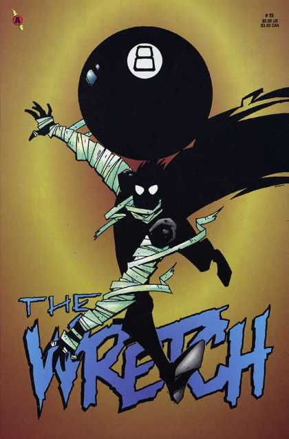 Wretch 5 - Billiard Ball - Shadow - Empty Cover - Zombie - Monster - Phil Hester