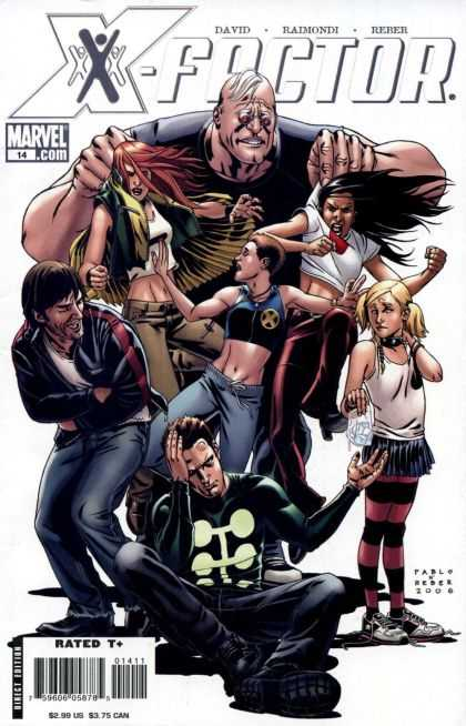 X-Factor (2005) 14 - Fighters - Man - Woman - Giant - Sacks