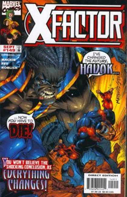X-Factor 149 - Evil Terror - Wicked Future - Killer Comic - Death Blow - Fury