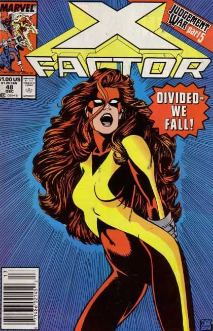 X-Factor 48 - Marvel - December - Judgement War - Redhead - Divided We Fall - Paul Smith