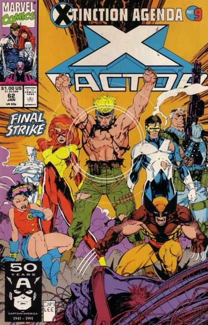 X-Factor 62 - Jim Lee