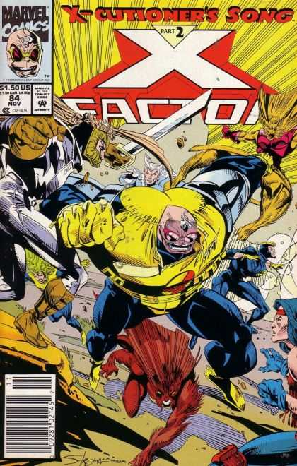 X-Factor 84 - Marvel Comics - Sword - Weapon - Destruction - Part 2 - Larry Stroman