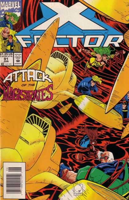 X-Factor 91 - Marvel Comics - Mutant - Superhero - Approved By The Comics Code - Woman - Joe Quesada