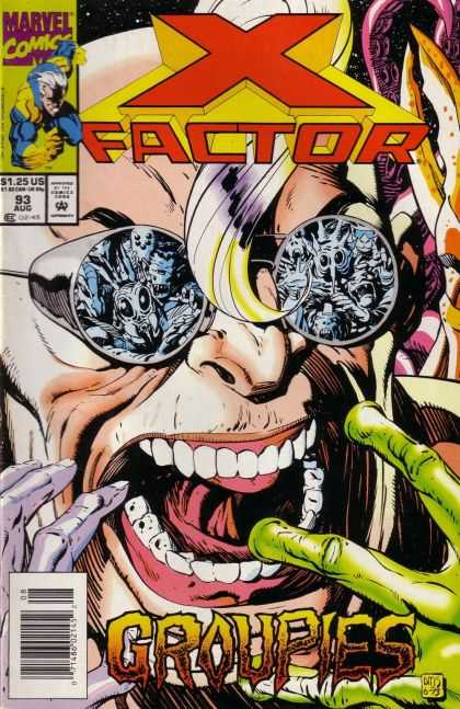 X-Factor 93 - Goggles - Reflection - Groupies - Tentacle - Teeth - Paul Smith