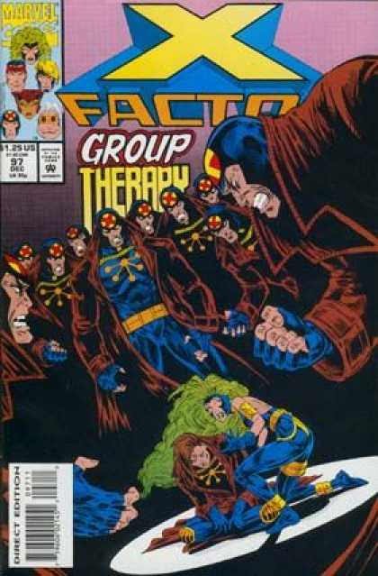 X-Factor 97 - Group Therapy - Fist - Coats - Men - Angry