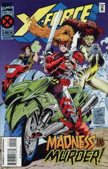 X-Force 40 - Motorcycle - Swords - Tiger Woman - Mist - Madness U0026 Murder - Kevin Conrad