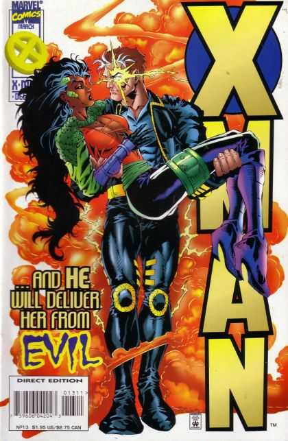 X-Man 13 - Smoke - Evil - Super Woman - Super Hero - Knee Cap - Bud LaRosa