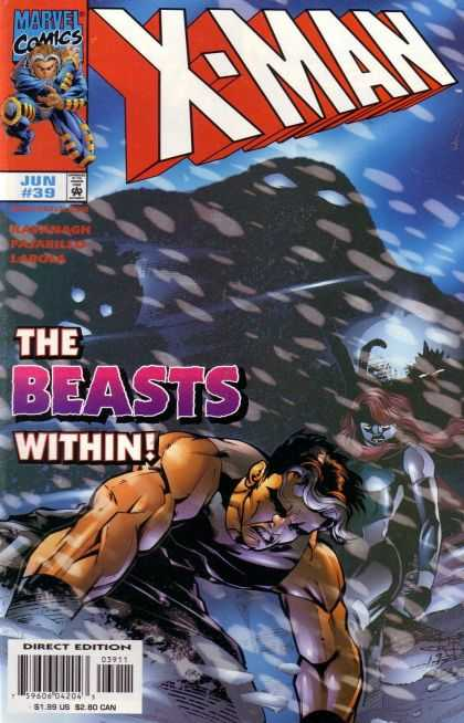 X-Man 39 - Kavanagh - Pajarillo - Larosa - Jun 39 - The Beast Within
