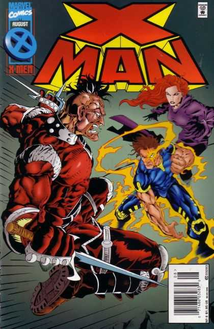 X-Man 6 - Jean Grey - Nate Grey - Super Heros - Battle - Villian - Bud LaRosa